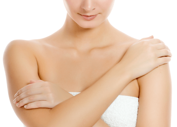 Омоложение кожи шеи и области декольте